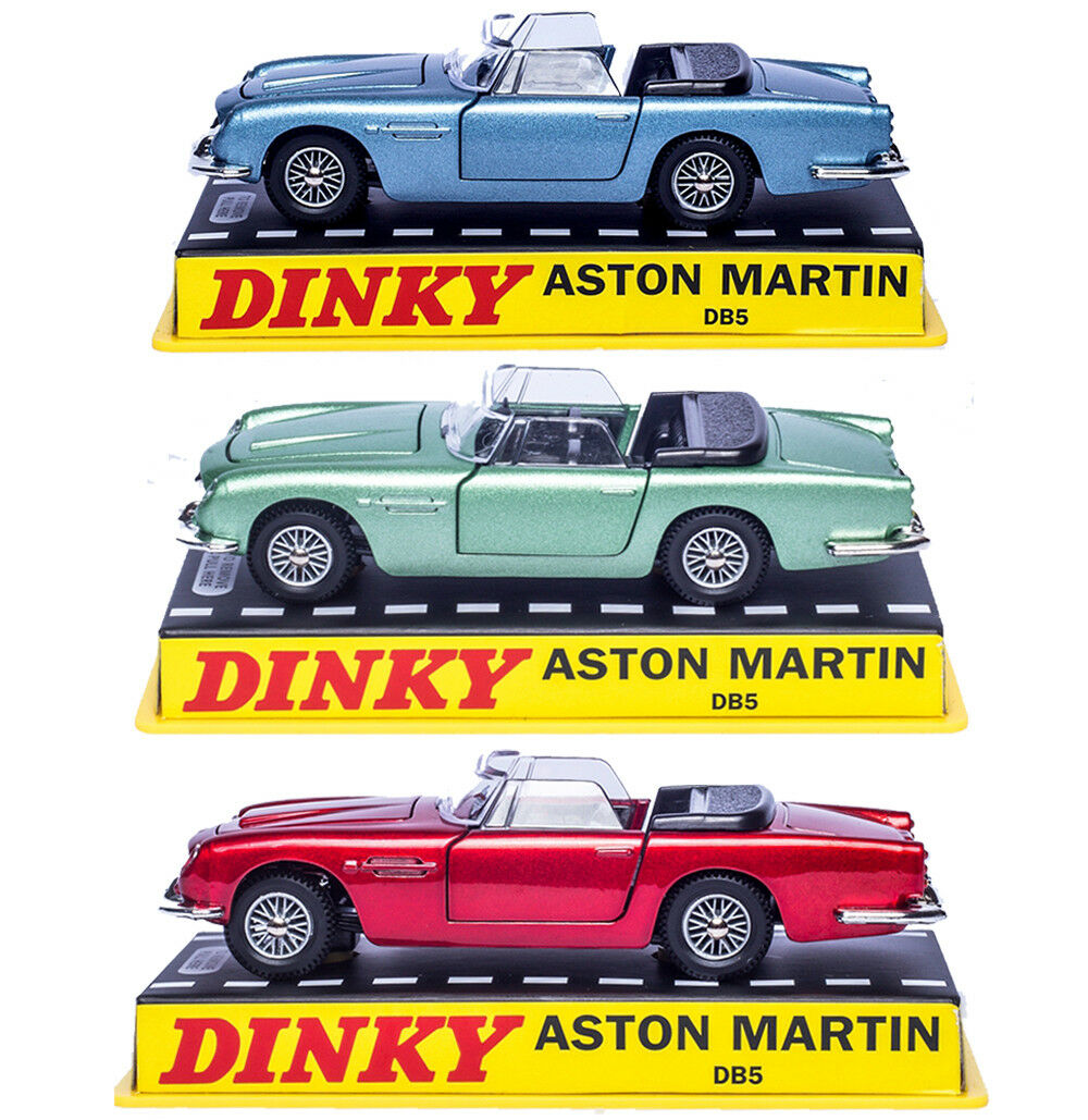 3 PCS SUIT Dinky Toys 110 Aston Martin DB5 Die-cast CAR MODEL COLLECTION 1 43