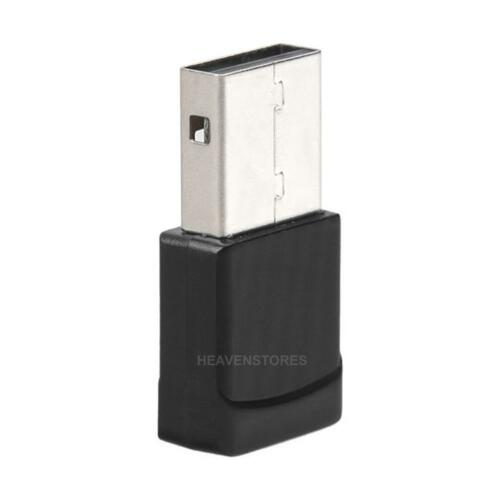 600Mbps Dual Band USB WiFi Dongle Wireless LAN Adapter 802.11AC//A//B//G//N 5//2.4Ghz