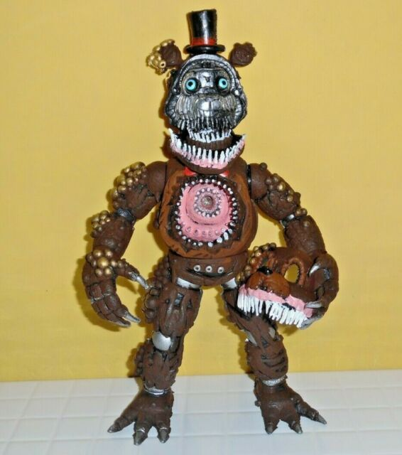 "Mexican ANIMATRONIC TWISTED SPRINGTRAP Figure 8"" FNAF Five"
