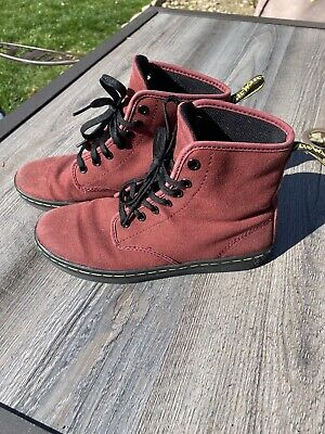 Dr. Martens Shoreditch Cherry Red Size