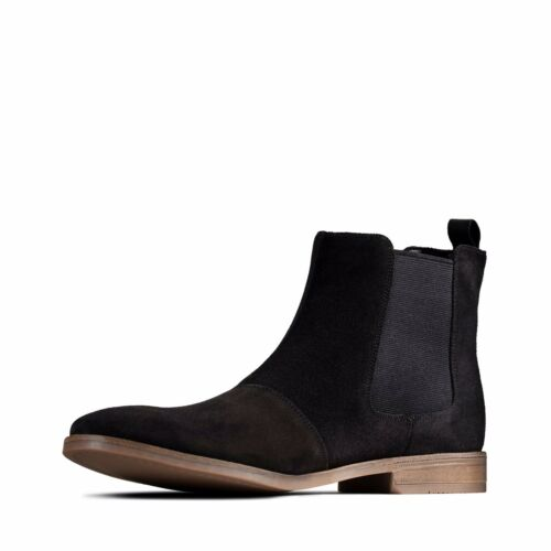 Clarks Stanford Top Para Hombre Chelsea Bota Uk Size 9