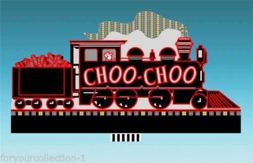 Miller's Chattanooga Choo Choo Animated Neon Sign O HO 88-1601