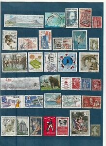 Lot-100-Timbres-Obliteres-Themes-amp-Annees-Divers-Lot-n-D-01