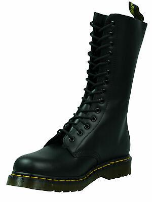 Dr. Martens Doc 14 Hole Boots Boot 1914 Black Smooth Black 5073 | eBay