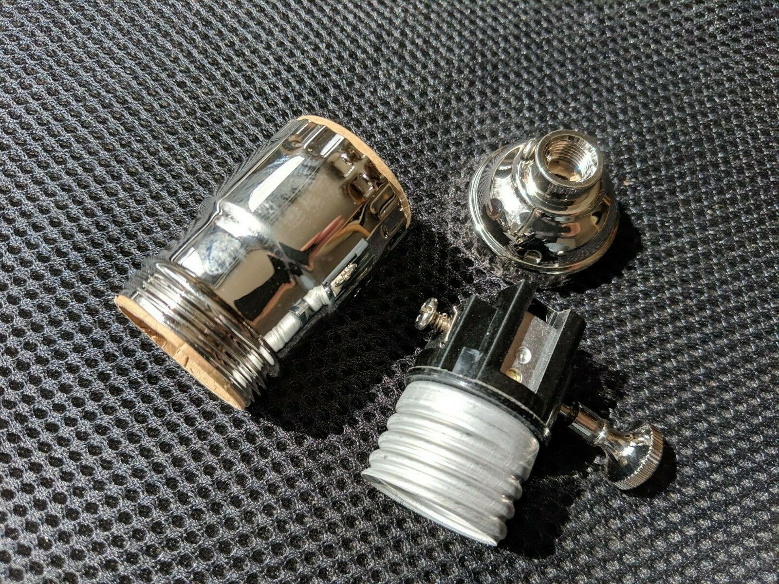 NEW REPLACEMENT LAMP SOCKET DELTA 882 RETIREMENT LIGHT NICKEL PLATED