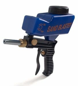 Lematec Portable Air Sand Blaster Gun Abrasif Media Handheld Sablage Pistolet-afficher Le Titre D'origine