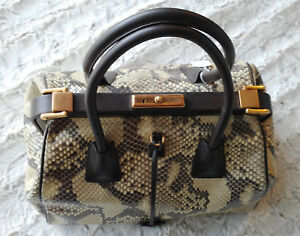 74a30bcb2f Image is loading Prada-034-Rare-034-Exotics-Embossed-Leather-Doctor-