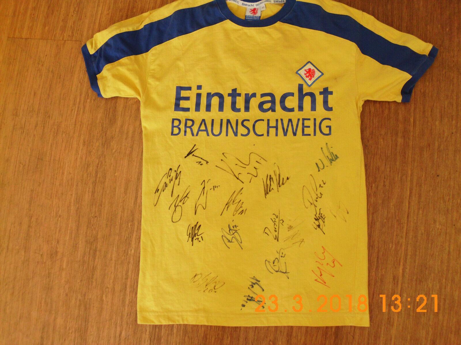Eintracht Braunschweig Trikot 2008   2009 SIGNIERT - RARITÄT    Die erste Reihe von umfassenden Spezifikationen für Kunden