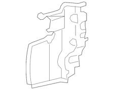 Genuine Toyota Deflector 53293-35020