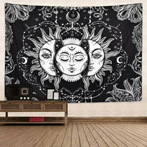 Sun-And-Moon-Tarot-Psychedelic-Tapestry-Bohemian-Hippie-Wall-Hanging-Decor-W8H
