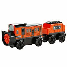 Thomas & Friends Wooden Railway Dustin Comes In First Tender Truck Sodor Snow