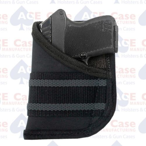 Ace Case Black Pocket Concealment Holster Fits Walther PPK//S **Made in U.S.A.**
