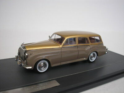 Responsible Rolls Royce Harold Radford Sc Estate 1959 Taupe Model Building Gold 1/43 Matrix 11705-072 New Do You Want To Buy Some Chinese Native Produce?