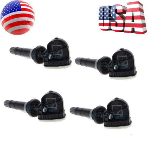 NEW Set of 4 Tire Pressure Sensors TPMS for Buick Cadillac Chevy GMC 23445327