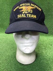 39172e89 Details about Vintage 80's Naval Special Warfare Seal Team Snapback Hat Cap  Eagle Crest USA