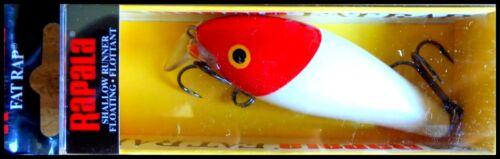 Red Head VERY RARE RAPALA SHALLOW FAT RAP SFR 7 cm RH color