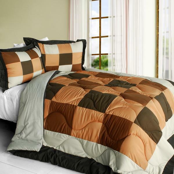 Blinking Danae Down Alternative Comforter Set twin queen or king - braun