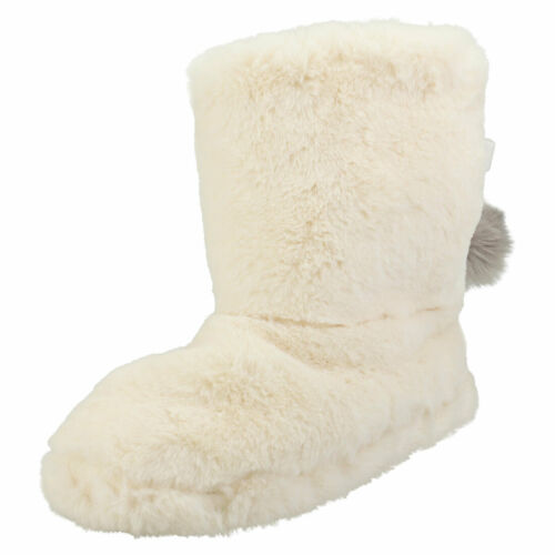 Ted Baker Wfp Hammond Womens Ivory Fur Fashion Boots