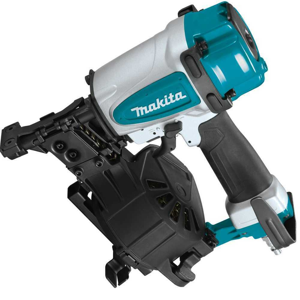 Makita AN454 1-3/4'' Coil Roofing Nailer. Available Now for 188.95