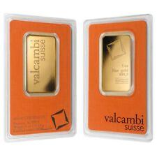Sale Price - 1 oz Gold Bar Valcambi Suisse .9999 Fine (In Assay)