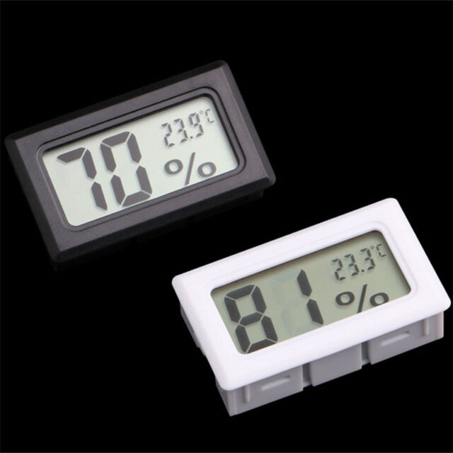 Mini Digital LCD Indoor Temperature Humidity Meter Thermometer Hygrometer Tester