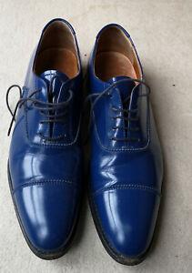 CHURCH'S Couleur Bleue Derbies Chaussures plates à lacets Femme  Taille 38