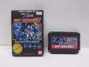 KIDOU-SENSHI-Z-GUNDAM-Hot-scramble-Famicom-NES-Japan-game-Work-fully-10317