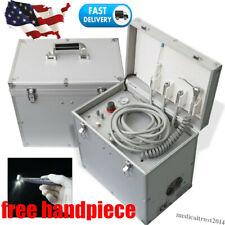 New Listingdental Portable Delivery Mobile Unit Siut Case Handpiece Suction Air Compressor