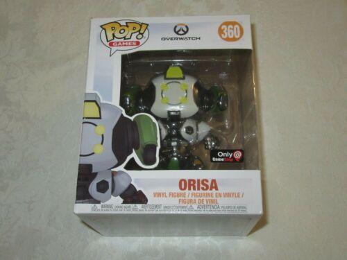 Funko Pop Games Overwatch Gamestop Exclusive #360 Orisa Vinyl Figure