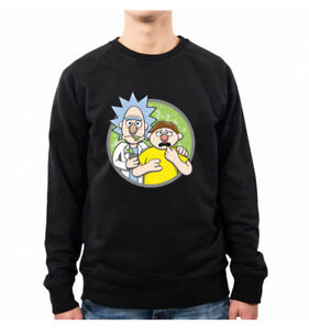 Morty Felpa Brickt Rick Pacdesign And Uomo Op0004a Mortie XrSqXH