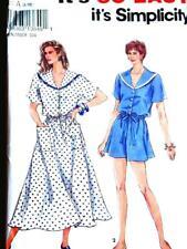 Simplicity 8230 Misses Apron Dress & Reversible Tabard Sewing Pattern Sz 6 24