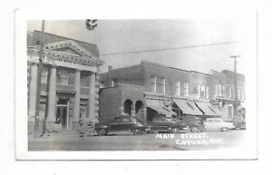 Haldimand-County-CAYUGA-ONTARIO-Main-Street-store-fronts-autos-bank