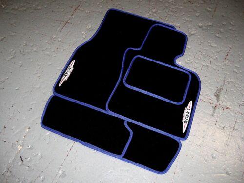 + COOPER S Oder Jcw Logo Farbe Wahl Mini Klappe R50//R53 Fußmatten 2000-2006