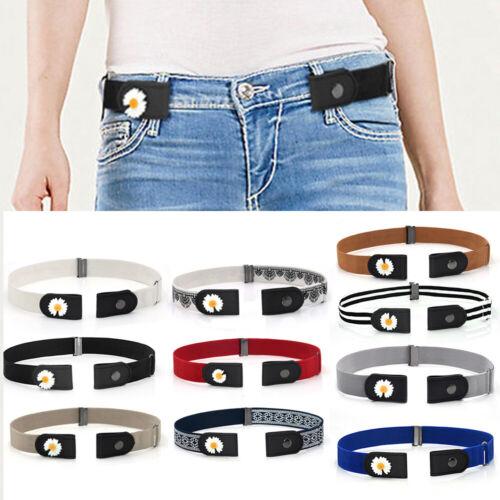 Femme Ceinture for Pantalon Jeans Non sans Tracas sans Boucle Confort Pratique