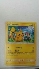 Pikachu (14/30) Promo -SM Trainer Kit Lycanroc & Alolan Raichu-NM-Pokemon
