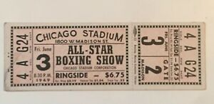 Chicago-Stadium-1949-All-Star-Boxing-Show-REPRINT-TICKET