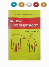 Su Jok for Everybody by Prof. Park Jae Woo Book + Free 5 Sujok Acupressure Rings
