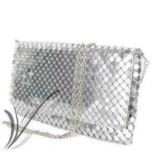 design senza tempo 27983 65575 Dettagli su Pochette argento elegante cerimonia clutch gioiello di moda da  donna per ragazza