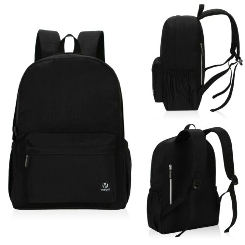 Veegul Lightweight School Backpack Classic Bookbag for Girls Boys Teens