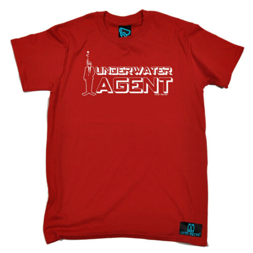 Underwater Agent T-SHIRT Diver Scuba Diving Diver Dive Gear birthday funny gift