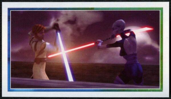#132 Star Wars The Clone Wars C382 2008 Merlin Sticker