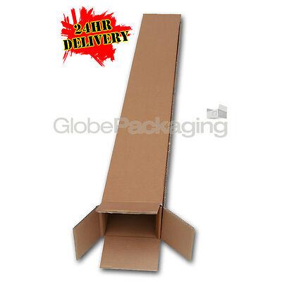 """5 x S/W LONG TALL GOLF CLUB BOXES - 49 x 5 x 4"""" 24HRS"""