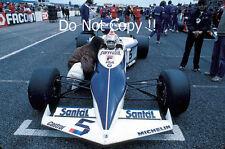 Nelson Piquet Brabham BT52 French Grand Prix 1983 Photograph 4