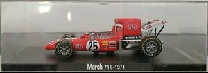 1/43 mars 711 1971 Ronnie Peterson F1 Formule 1 Rba Escala