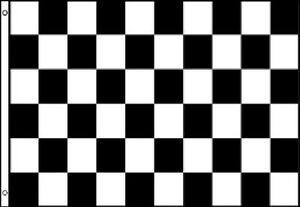 3-x-2-BLACK-and-WHITE-CHECK-FLAG-Checkered-Checked-Motor-Sport-Racing-F1