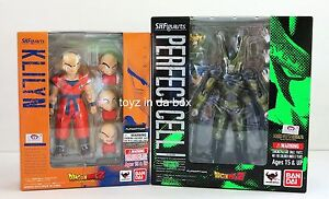 S-H-Figuarts-Dragonball-Z-Krillin-Cell-Tamashii-Exclusive-Action-Figure-Set