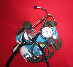 MITCO-MEDICALPedriatric-Sphyg-2-wraps-amp-Stainless-SH-Stethoscope-AWESOME-SALE