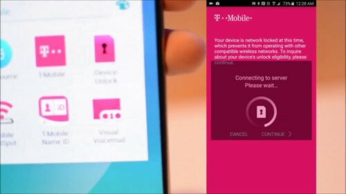 Unlock T-Mobile service Samsung S8//s7//s6//Note 8//S5 and others unlockapp carrier