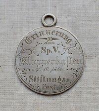 """Medaille Jeton Sparkassenverein """"Klapperkasten"""" 10jähr. Stiftungsfest 2.12.1883"""