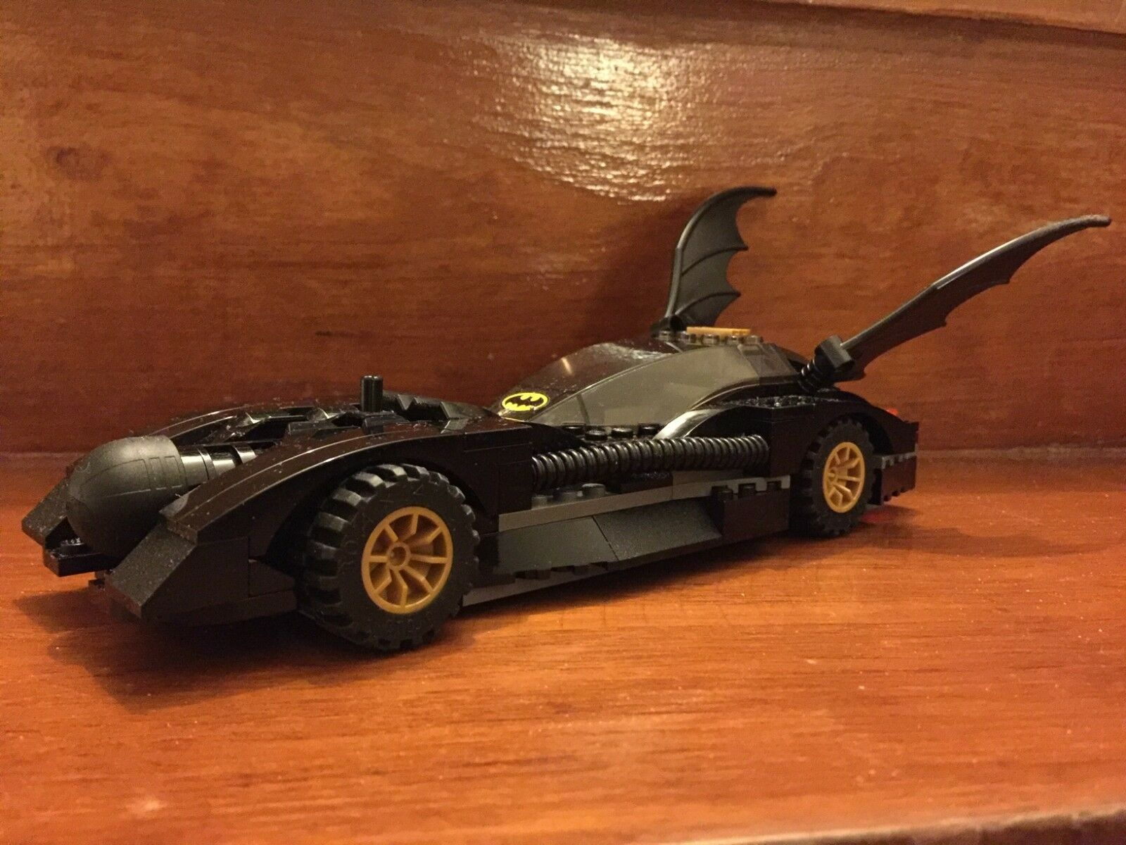 Batmobile de lego 7781 Batman Classic 1989 sólo 2006